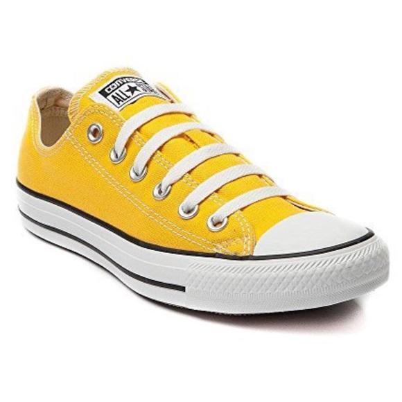 66d187322a6 Converse Shoes - Yellow Converse